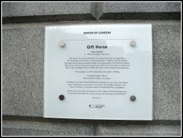 Trafalgar Sq Plinth Plaque